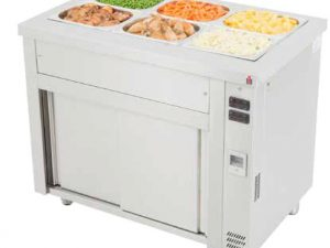 BMHC3 Bain Marie with Hot Cupboard