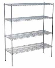 Chrome Shelf Racking Set B