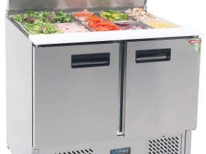 SA900E Saladette Fridge