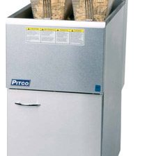 CE-35CS NAT/LP GAS Twin Basket Fryer