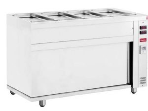 BMHC4 Bain Marie with Hot Cupboard