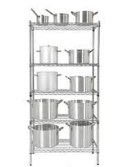 Chrome Shelf Racking Set A