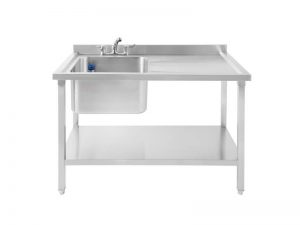 SBRD1200 Single Bowl Sink, Right Drainer