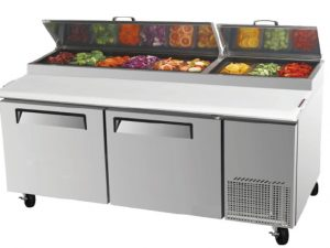 PST1700 Pizza / Salad Prep Counter Refrigerator